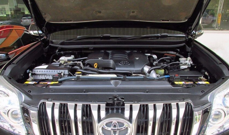 2020 Toyota Land Cruiser Prado Engine