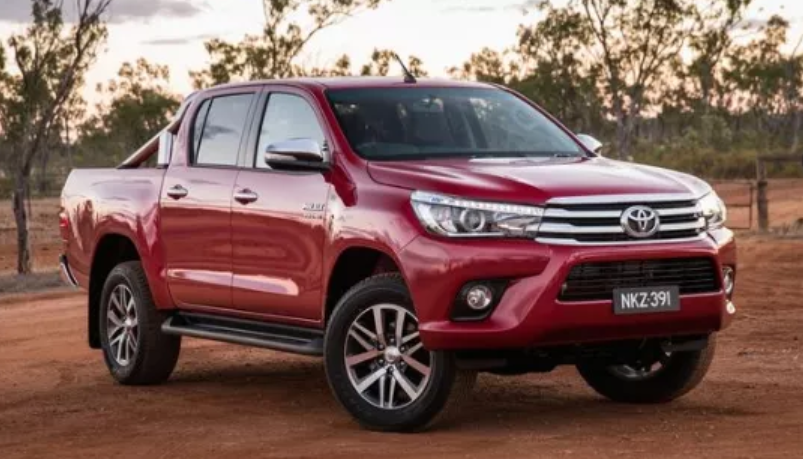 2020 Toyota Hilux Exter