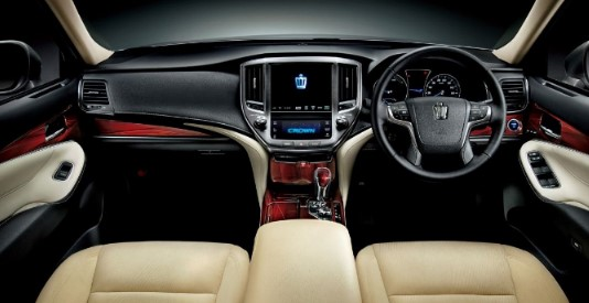2020 Toyota Crown Interior